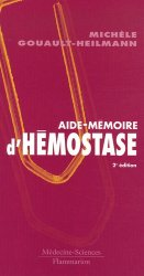 Souvent acheté avec Psychopharmacologie essentielle, le Aide-mémoire d'hémostase