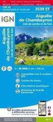 Dernières parutions sur Provence-Alpes-Côte-d'Azur, Aiguille de Chambeyron, Cols de Larche et de Vars Résistante. 1/25 000