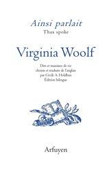 Dernières parutions sur Livres en anglais, Ainsi parlait Virginia Woolf