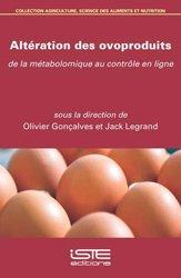 Dernières parutions sur Elevage des volailles, Altération des ovoproduits