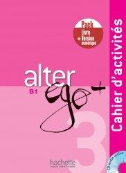 Dernières parutions sur Grands adolescents et Adultes, Alter Ego + 3 - Pack Cahier d'activitésVersion numérique