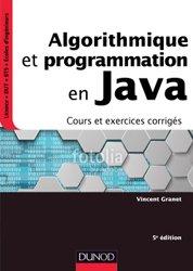 Dernières parutions dans InfoSup, Algorithmique et programmation en Java - 5e éd.