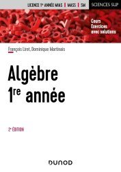 Dernières parutions dans Sciences Sup, Algèbre 1re année