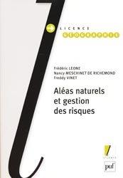 Souvent acheté avec Le Grand livre de la nature, le Aléas naturels et gestion des risques