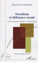 Dernières parutions dans Sciences et société, Alcoolisme et déficience sociale