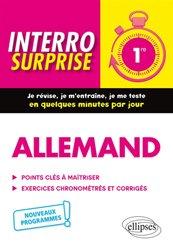 Dernières parutions dans Interro surprise, Allemand 1re