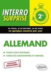 Dernières parutions dans Interro surprise, Allemand 2de