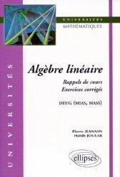 Dernières parutions dans universités, Algèbre linéaire