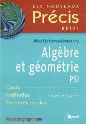 Dernières parutions dans Les nouveaux précis, Algèbre et géométrie PSI