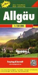 Dernières parutions sur Allemagne, Allgäu. 1/150 000