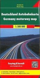 Dernières parutions sur Allemagne, Allemagne carte d'autoroute. 1/500 000
