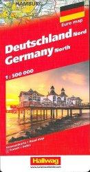 Dernières parutions sur Allemagne, Allemagne nord DG. 1/500 000