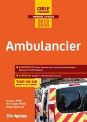 Dernières parutions sur Ambulancier, Ambulancier