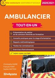 Dernières parutions sur Ambulancier, Ambulancier. Edition 2020-2021
