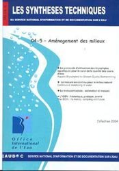 Dernières parutions dans Les Synthèses techniques de l'office international de l'eau, Aménagement des milieux