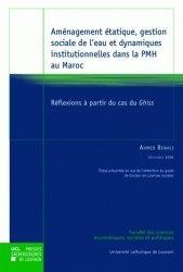 Dernières parutions dans Thèses de l'UCL, Aménagement étatique, gestion sociale de l'eau et dynamiques institutionnelles dans la PMH au Maroc