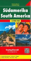 Dernières parutions sur Amérique du Sud, Amérique du Sud. 1/8 000 000