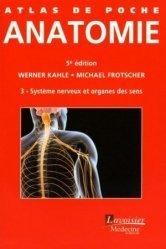 Dernières parutions dans Atlas de poche, Anatomie 3 Système nerveux et organes des sens