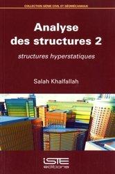 Dernières parutions sur Génie civil, Analyse des structures 2
