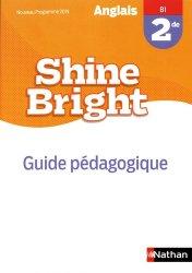 Dernières parutions dans Shine Bright, Anglais 2de B1 Shine Bright