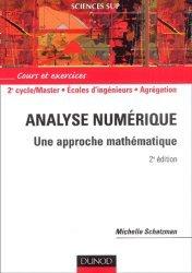 Souvent acheté avec Cours d'algèbre , le Analyse numérique Une approche mathématique