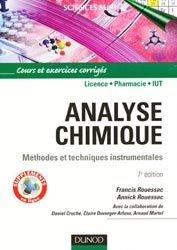 Souvent acheté avec Chimie organique, le Analyse chimique
