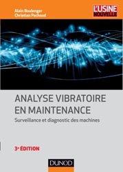 Dernières parutions dans L'usine nouvelle, Analyse vibratoire en maintenance