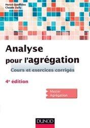 Souvent acheté avec Cours de mathématiques 2 Algèbre et applications à la géométrie, le Analyse pour l'agrégation