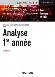 Dernières parutions dans Sciences sup, Analyse - Licence 1re année - 2e éd.