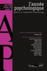 Dernières parutions sur Psychologie du quotidien, annee psychologique 120-1