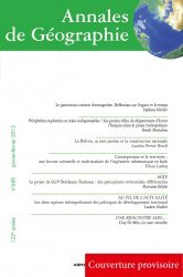 Dernières parutions dans Annales de Géographie, Annales de Géographie