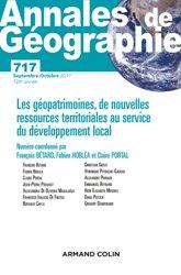 Dernières parutions dans Annales de Géographie, Annales de géographie nº 717