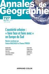 Dernières parutions sur Géographie, Annales de géographie