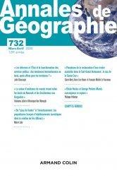 Dernières parutions sur Géographie, Annales de géographie - Nº 732 (2/2020) Varia