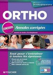 Souvent acheté avec Concours orthophoniste, le Annales corrigées concours d'entrée orthophoniste entrée en école