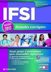 Nouvelle édition Annales corrigées IFSI  2012