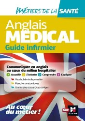 Dernières parutions sur Infirmières, Anglais médical - guide infirmier