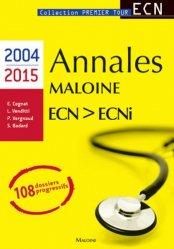 Souvent acheté avec Annales de LCA en français-anglais pour le concours ECNi, le Annales Maloine Internat ECN - ECNi (2004-2015)