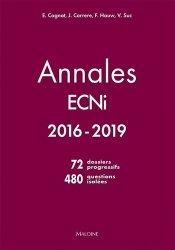 Dernières parutions sur ECN iECN DFASM DCEM, Annales ECNI 2016-2019
