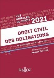 Dernières parutions sur Droit des obligations, Annales Droit civil des obligations
