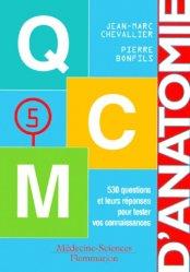 Souvent acheté avec Carnet d'anatomie 2, le Anatomie 5  - QCM