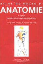 Souvent acheté avec 36 planches d'anatomie humaine, le Anatomie 3 Système nerveux et organes des sens