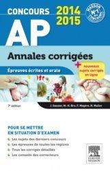 Souvent acheté avec Mathématiques, le Annales corrigées Concours AP 2014-2015
