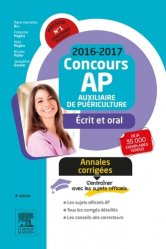Nouvelle édition Annales corrigées Concours AP 2016-2017