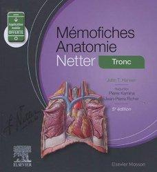 Dernières parutions dans Mémo-Fiches, Anatomie netter tronc