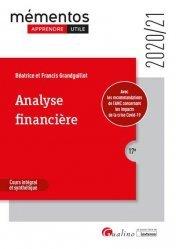 Dernières parutions dans Mémentos LMD, Analyse financière