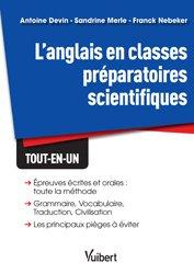 Dernières parutions dans Vuibert Prépas, Anglais classes prépas scientifiques