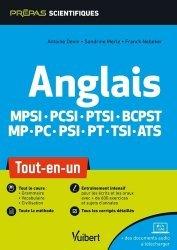 Dernières parutions sur Anglais spécialisé, Anglais en classes préparatoires scientifiques MPSI PCSI PTSI BCPST MP PC