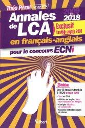 Souvent acheté avec Diagnostic radiologique dentaire et facial Exercices, le Annales de LCA en français-anglais pour le concours ECNi