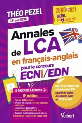 Dernières parutions dans , Annales de LCA en français-anglais pour le concours ECNI 2022